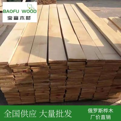 供应优质欧洲桦木 实木板材 俄罗斯桦木 桦木实木 烘干家具材 无节材