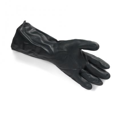 耐酸碱溶剂防化手套耐油工业劳保手套氯丁橡胶防护手套