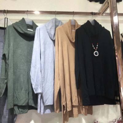 广州沙河毛衣批发市场 地摊便宜女装针织衫 羊毛衫 厂家便宜服装货源批发