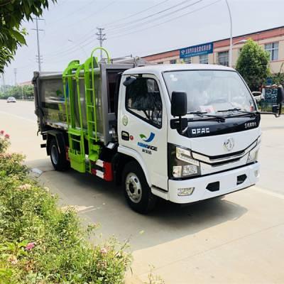 东风天锦14立方的压缩垃圾车 终了配置的垃圾车 报价低的垃圾压缩车