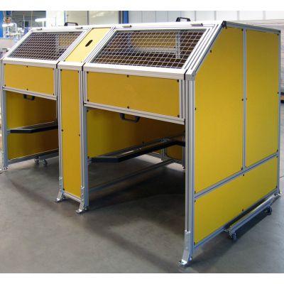 上海厂家设计定制亚克力防护罩 铝型材框架