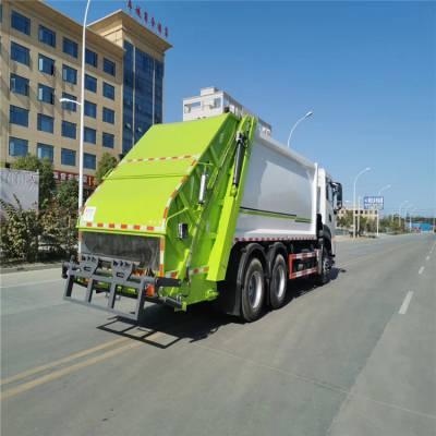 后双桥勾臂移动垃圾车 压缩垃圾站配套的垃圾车 徐工环卫车