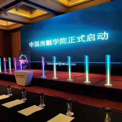 北京发光柱子租赁