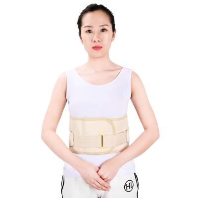 供应康信弹力护腰带 铝合金条支撑腰部弧度腰围固定带