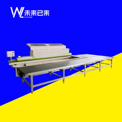 WL-468全自动封边机回转生产线
