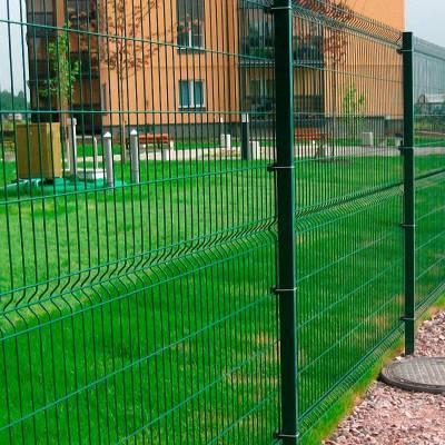球场围网定制运动场隔离栅浸塑铁丝学校操场安全隔离防护球场围网