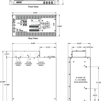 AMETEK/阿美特克美国CSW高性能交直流程控电源