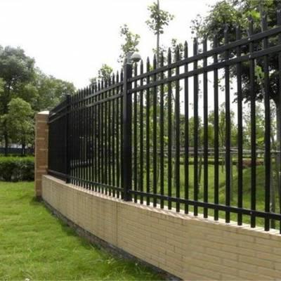 安阳汤阴直销喷塑锌钢护栏 围栏小区围墙室外隔离防护锌钢护栏