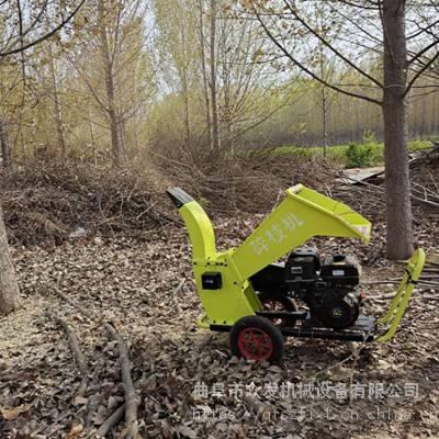 190汽油树枝粉碎机 多功能汽油碎枝机