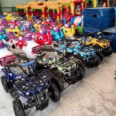 廠家直銷雙人電瓶碰碰車玩具車景區商場廣場雙方向盤坦克碰碰車