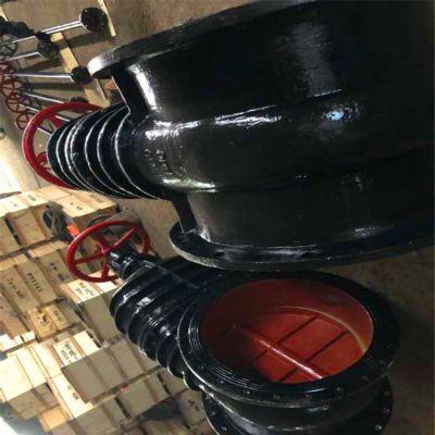 防护闸阀铸铁闸阀Z45T硬密封管道手动暗杆消防护闸阀Z45T-10Q DN1800水用铸铁闸阀