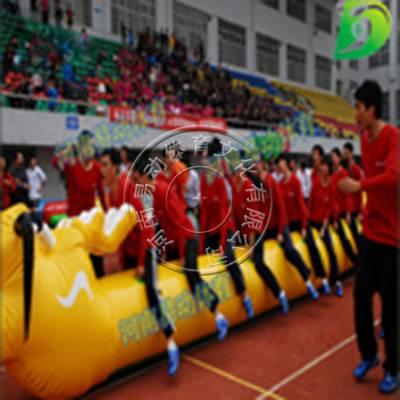 趣味运动会道具 旱地龙舟 多人比赛项目 拓展公司游戏道具