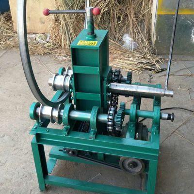 19-76弯管机 立式电动弯管机 圆管方管滚动式折弯机