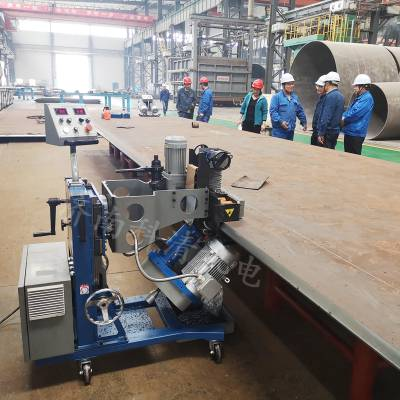 长沙GMM系列双面铣边机 铜板复合板加工坡割机 大型储罐行业焊接坡口
