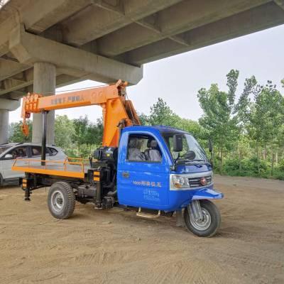 江苏改装随车吊3吨小树林用吊树机 济宁久征工程机械供应