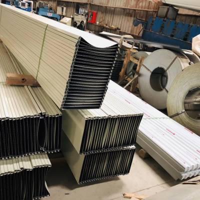江苏镇江铝镁锰扇形板金属屋面大批量供应