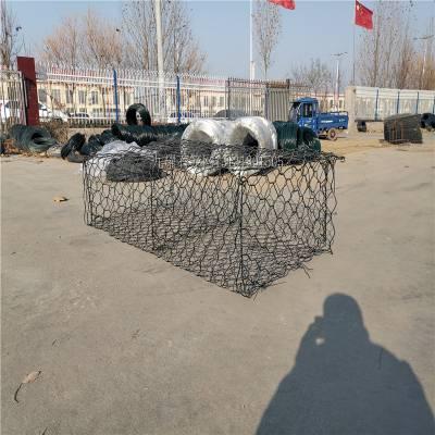 镀锌石笼网 锌铝合金石笼网箱 格宾网卷施工方便