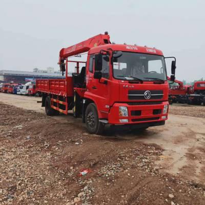 重庆东风8吨随车吊 厂家直销 多少钱 可分期