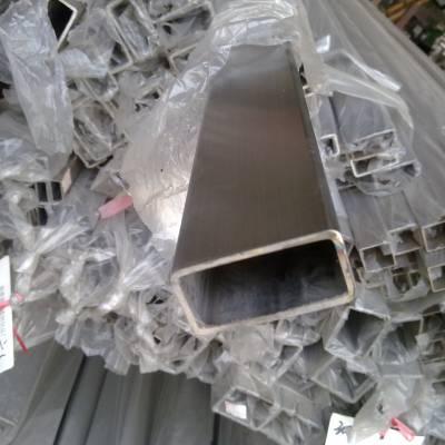 25*80*2.0不锈钢方管价格拉丝316不锈钢方管厚度沸腾干燥机用管
