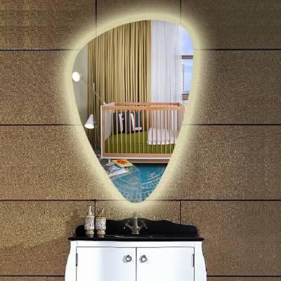LED智能浴室镜酒店卫浴镜子背光挂墙除雾蓝牙触摸卫生间防雾镜子