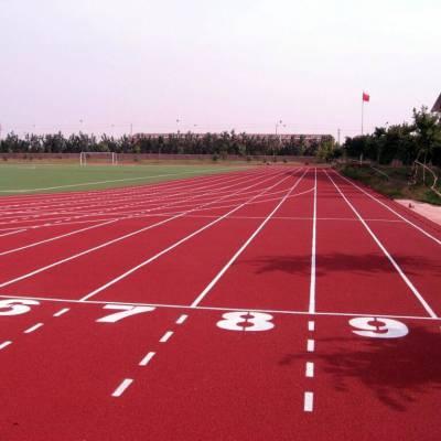 透气型塑胶跑道施工13mm塑胶跑道环保EPDM塑胶地坪专业
