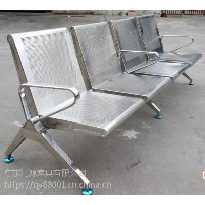 QY001不锈钢长排椅生产厂家-广东清源家具有限公司