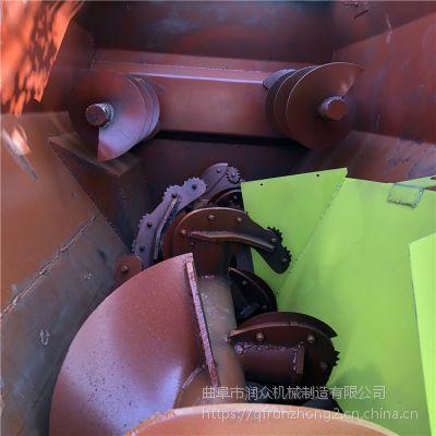 主副轴立体循环拌草机 草料粉碎搅拌机 卧式青贮拌料机