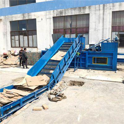曲阜鲁丰机械(图)-大型废纸打包机厂家-大型废纸打包机