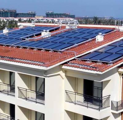 酒店式太阳能热水工程-海口南方正宇-陵水太阳能