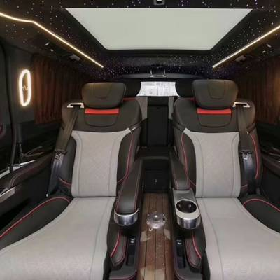 西安奔驰v260个性改装商务车内饰哪家好