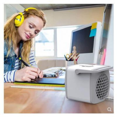 跨境新品G2T微型冷气迷你风扇冷风机水冷扇USB空调扇小风扇便携