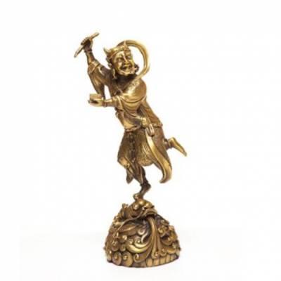 纯铜魁星雕像生产厂-纯铜魁星雕像-中正铜雕