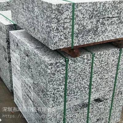广州芝麻灰石材 止车石柱厂家 深圳花岗岩圆柱子厂家
