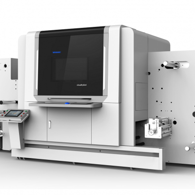 多功能标签印刷机的价格 商用 卷对卷印刷机
