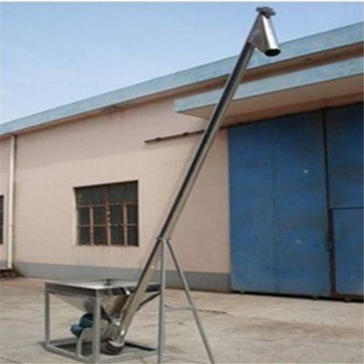 金禾大量生产碳钢材质螺旋输送机 食品加工原料入灌提升机