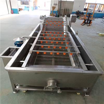大型自动油炸锅商用 全自动型茄盒油炸机麻花 电加热油炸设备