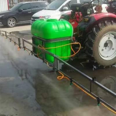 农用喷杆式打药机 拖拉机三点悬挂打药机 效率高折叠喷杆打药机
