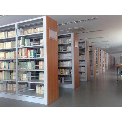 智能密集书架厂家 图书馆档案馆密集架图书架定制 库房资料柜货架批发