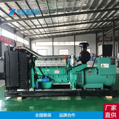 潍坊无刷200kw柴油发电机组 新弘源LN6126AZLD 船舶商场应急200kw发电机组