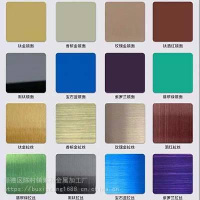 不锈钢拉丝红古铜、纳米油仿铜、发黑青古铜不锈钢板定制