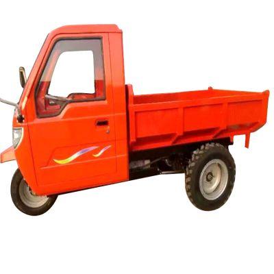 工地好帮手柴油三轮车 前卸式三轮车电启动无棚 品质值得信赖的自卸三马车