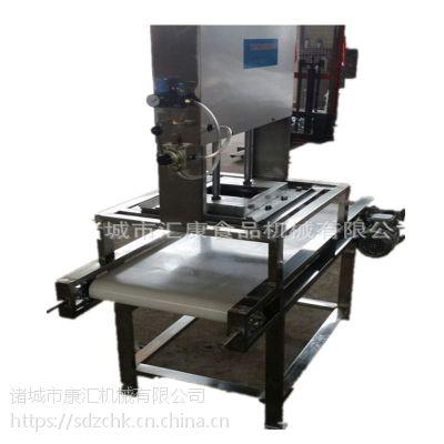 供应麻婆豆腐切块机 豆腐切长方形 三角形 康汇机械气动切割机
