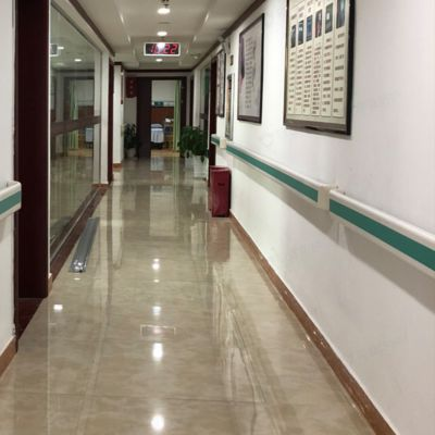 医院室内防撞扶手批发 PVC医院敬老院楼道程益防护走廊/无障碍防撞扶手