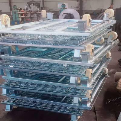 仓储笼生产厂家 仓储笼铁丝网 货架仓储笼量大从优