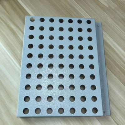 医院定制穿孔勾搭铝单板 2.0厚氟碳铝单板厂家