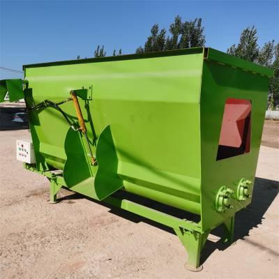 TMR搅拌机各种容量专业定做 混料机集搅拌粉碎多种功能于一体