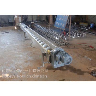 勒克斯粮食螺旋输送机生产基地
