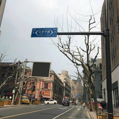 桂林交通标志牌八角杆件厂家 广西道路标识牌规格参数 江苏斯美尔光电科技有限公司
