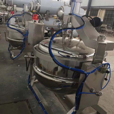 山东高压蒸煮锅 大型蒸汽压力蒸煮锅 牛肉高温蒸煮锅 厂家直销质量有保障