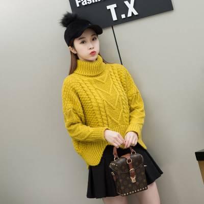 库存杂款女式宽松大件针织衫便宜批发 厂家直销秋款韩版女装薄款毛衣大量供货